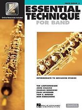 Essential Technique 2000 Oboe Book 3 with Play Along CD