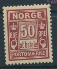 Norway P6I A with hinge 1889 Porto Brand (9339726