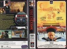 THE LAST EMPEROR - VHS - PAL - NEW - Never played! -Original Oz release - L case