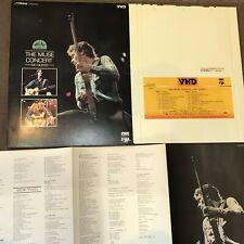 THE MUSE CONCERT-NO NUKES B.Springsteen JAPAN-ONLY VHD Slip Case+Insert VHM68065