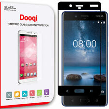 2X Dooqi Premium Full Coverage Tempered Glass Screen Protector for Nokia 8