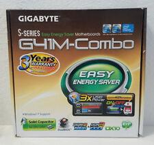 Gigabyte GA-G41M-Combo REV 1.3 Motherboard Intel LGA 775 DDR2 RAM