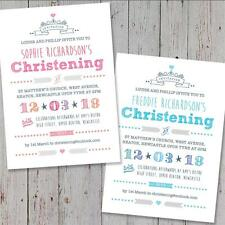 40 Personalised Christening invitations Baptism Naming Day Birthday
