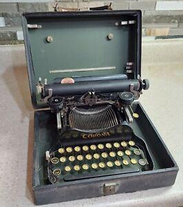 CORONA FOLDING TYPEWRITER w/ Case, AS IS, portable manual antique vintage