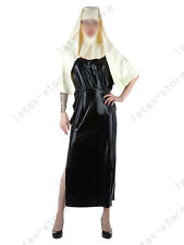 511 Latex Gummi Rubber Nun uniform Robe stole gown toga Catsuit customized 0.4mm