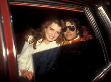 Michael Jackson and Brooke Shields in 1984 UNSIGNED photograph - L6472