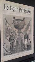 Diario El Pequeño Parisino N º 355 Domingo 24 Novembre 1895 Con ABE