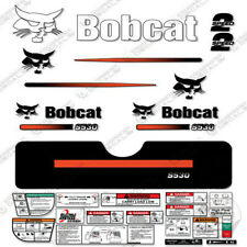 Bobcat S530 Compact Track Loader Decal Kit Skid Steer (Straight Stripes)