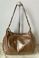 NWT HOBO International Lennox Shoulder Bag RP $288 Cameo Rose Gold Leather