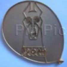 Disney Pin 75715 Pt52 Alpha Pixar Movie Up Doberman Pinscher Dog Gold Chaser