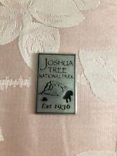 JOSHUA TREE NATIONAL PARK Collectible Token - Rectangular - NPS - New