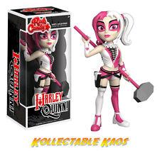 "Funko Batman - 52 Harley Quinn Pink & White Rock Candy 5"" Vinyl Figure"