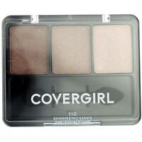 CoverGirl Eye Enhancers 3-Kit Eyeshadow, Shimmering Sands 110, 0.14 oz