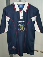 UMBRO Scottish Football Association Soccer Shirt Jersey #10 Dunlop Men's Size L