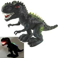 """Large 14"""" Walking Dinosaur T-rex Figure  Lights & Sounds Jurassic World Dinasour"""