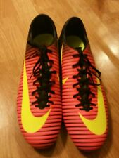 Nike Men Mercurial Vapor XI FG Crimson Volt Soccer Cleats Size Mens US 13