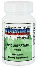 Advanced Research ZINC 40 MG 100 Tablets, Specially Formulated, Special Value!