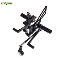Adjustable Rearsets Foot pegs Rear Sets Pedals Aprilia RSV1000R FACTORY 04-08 07