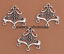 10pcs Tibetan Silver Charms Earring Connectors 20x19MM D3064