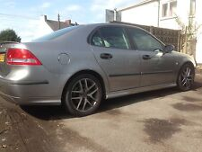 Saab 9-3 Aero 2.0 Petrol 210Bhp Breaking For Parts 279 Grey. Four Wheel Nuts