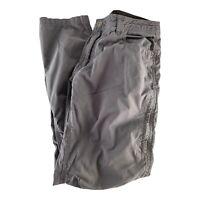 SWISS TECH Mens Cargo HIKING Pants 30x32  camping outdoor Khaki Gray Tactical
