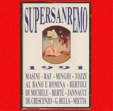 "COMPILATION "" SUPERSANREMO 1991 "" MUSICASSETTA SIGILLATA  (MC - K7) 090317406749"