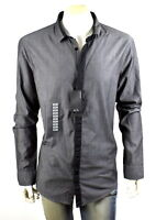 Armani Exchange A|X Men's Slim Button Up Shirt/Top - 6YZC15-ZN82Z Size XXL