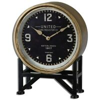 10.5 Baby Angel Cherub Mantle Table Clock