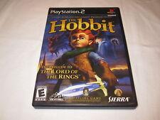 The Hobbit (Playstation PS2) Black Label Original Release Complete Excellent!