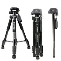 ZOMEI Monopod 55''Compact Camera Tripod Light Weight Travel stand for DSLR DV