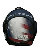 Prince Pro Tour Tennis Bag Backpack & Racquet Case Sleeve Shoe Pocket Usa Flag