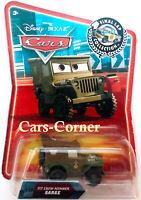 Disney Pixar Cars 1 Pit Crew Member Sarge - Final Lap Collection 2007 NEU & OVP