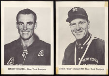 1960's ORIG NHL NEW YORK RANGERS TEAM  issue PHOTO PICTURE SET OF 7 NEVIN HOWELL