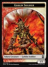 4x TOKEN Soldato Goblin - Goblin Soldier MTG MAGIC EMA Eternal Masters Eng