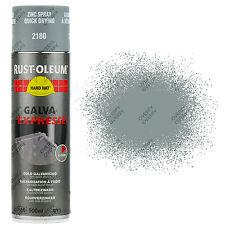 X3 Rust-Oleum galva Expresse mat gris zinc 2180 Peinture aérosol solide chapeau
