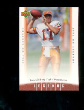 2006 Upper Deck Legends STEVE DEBERG Tampa Bay Buccaneers Card