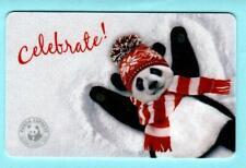 Panda Express Celebrate Panda Making Snow Angel 2012 Gift Card ( $0 )