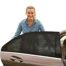 Auto Window Mosquito Net Sun Shades Car Camping Outdoor 1 Pair Adjustable