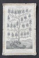CANIVET plié ALCAN Image Pieuse HOLY CARD 19thC Santino 1