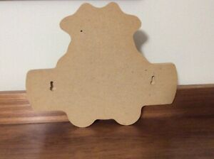 "USED WOOD COW WALL HANGING SHAPED NAME PLATE FEATURES THE NAME ""TERESA"""