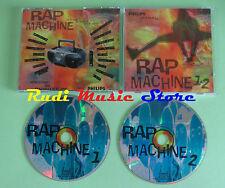 CD RAP MACHINE 1&2 compilation PROMO ARTICOLO 31 SOTTOTONO SANGUE MISTO (C21)