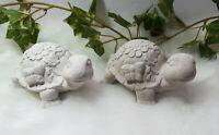 Handgemachte Gartenfigur Betonfigur Beton Steinguss Dekofigur Figur Schildkröte