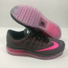 Womens Nike Air Max 2016 Athletic Shoes Sneakers GREY/PINK 806772 016 Size 11.5