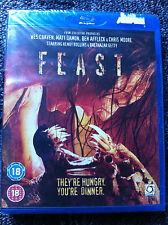 FEAST / PATHOLOGY / VAMPIRE'S ASSISTANT /LESBIAN VAMPIRE KILLERS - 4 Blu Ray B
