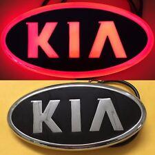4D LED Car Tail Logo Red Light for Kia K5 Sorento Soul Forte Auto Badge Light