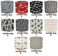 Lampshades Ideal To Match Scottie Dog Duvets & Cushions, Scottie Dog Wallpaper.