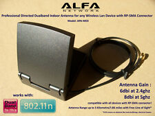 Dualband Directed Antenna 802.11N/AC  6dbi/8dbi RP-SMA Richtantenne 5Ghz 2.4Ghz