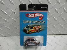 Hot Wheels Super Chromes Morris Mini Cooper  w/Redlines