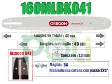 """CATENA MOTOSEGA OREGON 20 BPX PASSO 0.325/"""" SPESSORE 1.3 mm TAGLIO LEGNA MOTOSEGH"""