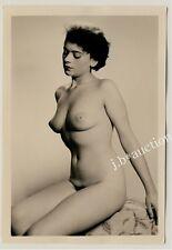 #497 RÖSSLER AKTFOTO / NUDE WOMAN STUDY * Vintage 1950s Studio Photo - no PC !